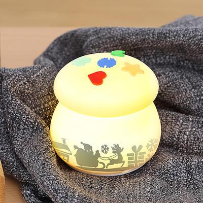 Mushroom-type PVC film image model, intelligent micro-lighting LED silica gel lamp, pat lamp, children's night lamp