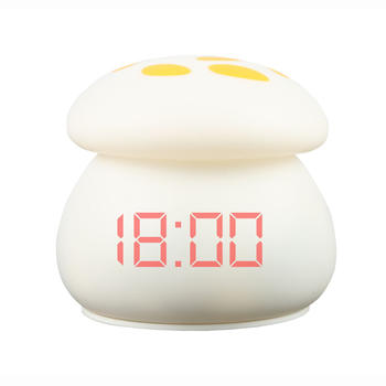 Human body induction clock projection display alarm: intelligent micro-lighting LED silica gel lamp, pat lamp, night lamp